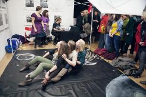 Chalk Adventures tijdens museumnacht 2013